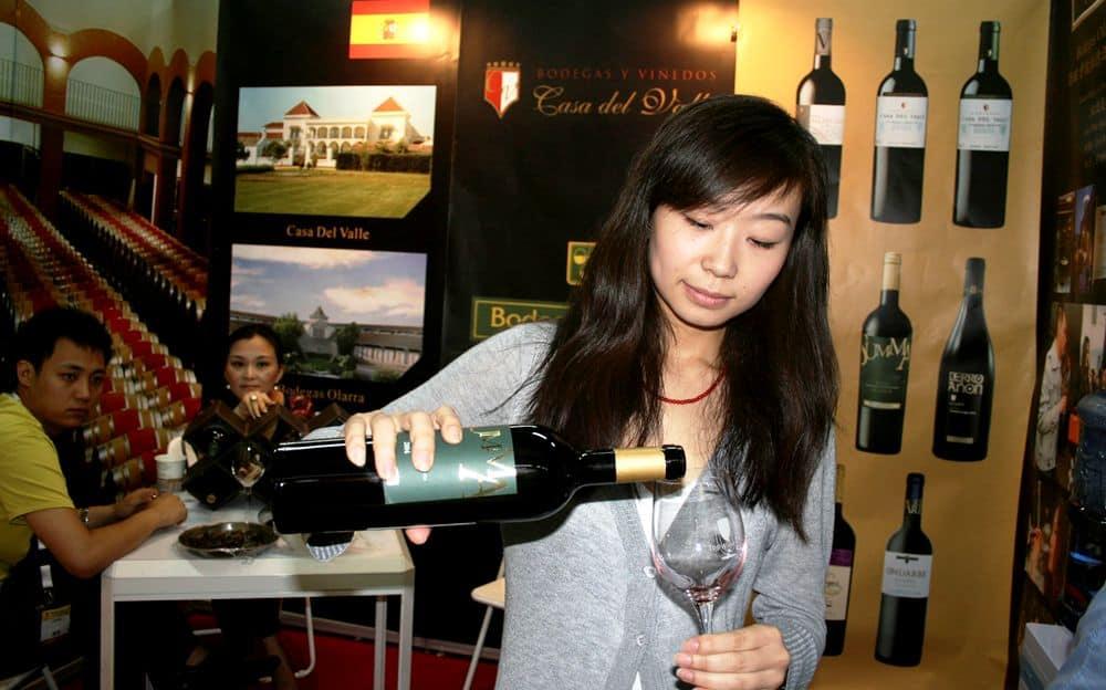 El vino en China, futuro prometedor.
