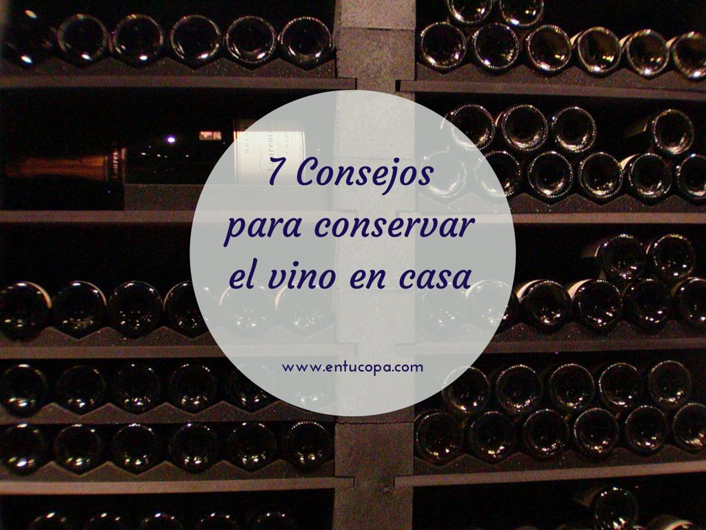 Cómo hacer que nuestros vinos mejoren en casa