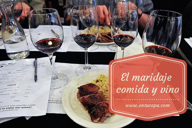 El arte de maridar la comida con el vino