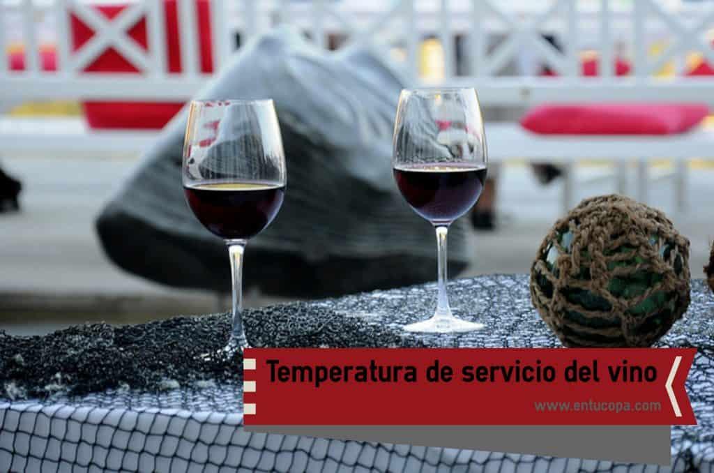 Cómo conseguir la temperatura óptima de servicio de un vino