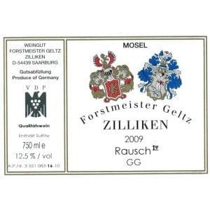 Etiqueta de un vino Großes Gewächs -GG-